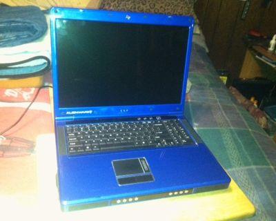 Alienware MJ12 laptop