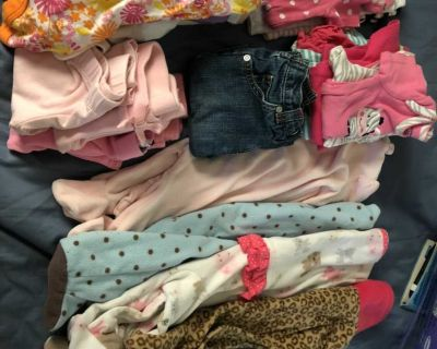 Baby girl 0-3 months clothing lot