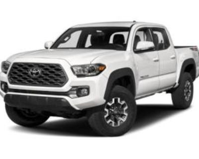 2020 Toyota Tacoma TRD Sport Double Cab 5' Bed V6 4WD Manual