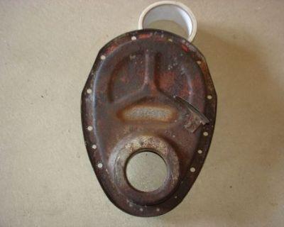 1969 69 Camaro Z-28 Original 8 Inch Timing Chain Cover Aor Jl8 Crossram L@@k