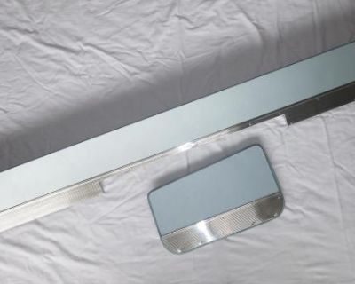Middle & Rear seat kick panels for '59-'67 bus