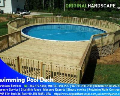 Swimming Pool Decks Build and Renew Maryland
