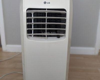LG 8000 BTU Portable Air Conditioner with Dehumidifier & Fan