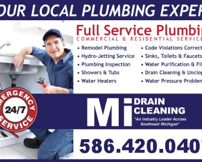 We Provide You with Convenient and Affordable Sewer & Plumbing Services