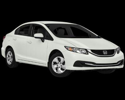 Pre-Owned 2014 Honda Civic LX FWD 4D Sedan
