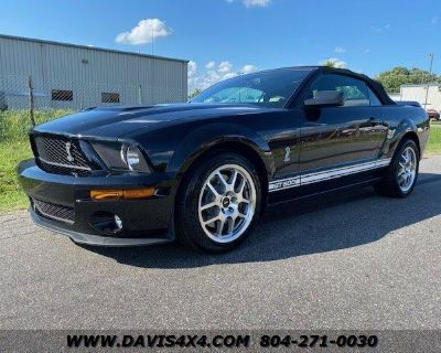 2007 FORD MUSTANG Shelby GT500 Convertible Two Door Sports Car 399