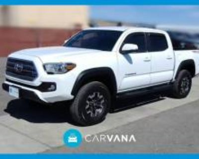 2017 Toyota Tacoma TRD Off Road Double Cab 5' Bed V6 4WD Manual