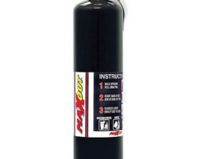 H3r Maxout Dry Chemical Fire Extinguisher, 2.5 Lb Black