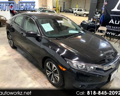 2018 Honda Civic Sedan EX-T CVT w/Honda Sensing