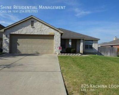 825 Kachina Loop, Harker Heights, TX 76548 4 Bedroom House