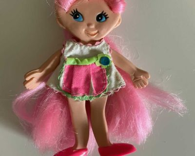 Vintage Ideal Toys Flatsy Cookie doll with original clothes/shoes