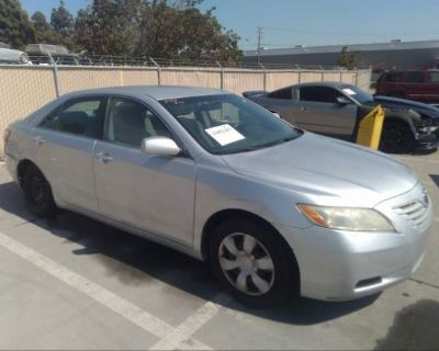 Salvage Silver 2008 Toyota Camry