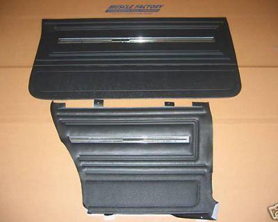 66 Chevelle Coupe Front & Rear Door Panels Set
