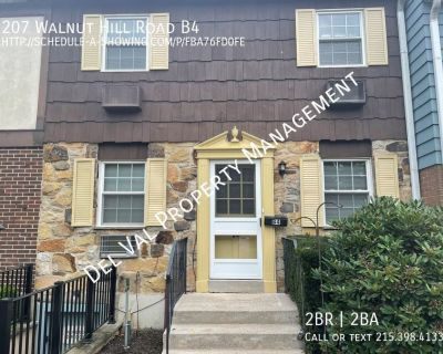 Updated Well-maintained 2-Bdrm Townhome For Rent - Available Now in West Chester!