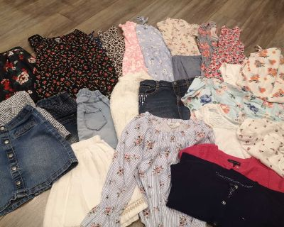 Girls clothing mixed lots 8-10,11 size