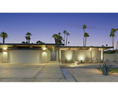 Private Post & Beam Eichler w/ Pool & Spa in S. Palm Springs with Mountain Views - Tahquitz River Estates