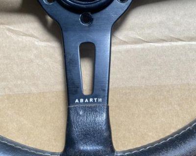 Rare abarth momo steering wheel