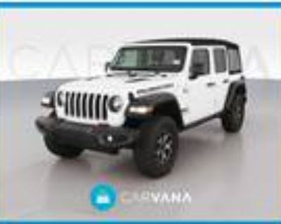 2018 Jeep Wrangler White, 19K miles