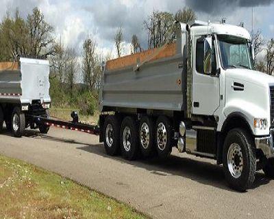 Dump truck financing for (A through D) credits
