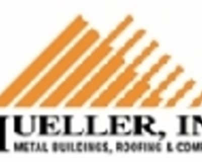 Mueller, Inc. is a manufacturer of pre-engineered steel building systems, metal roofing...