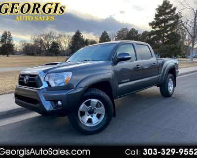 Used 2014 Toyota Tacoma Double Cab Long Bed V6 5AT 4WD