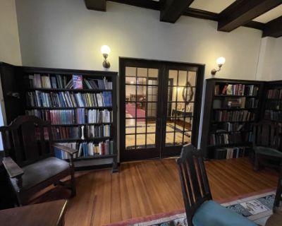 Historic Library & Parlor, Washington, DC