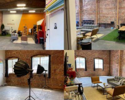 Open, Versatile, Tall Ceilings - Film Studio // 1500SF, Los Angeles, CA