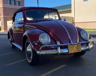 1956 VW Oval Karmann Convertible