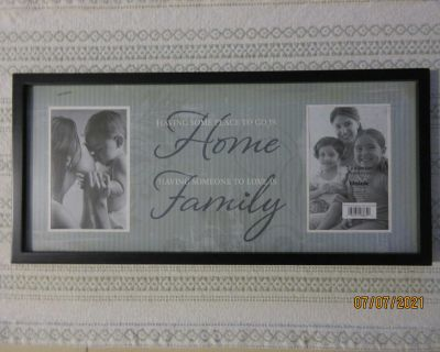NEW Picture Frame with Saying