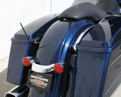 "Harley Davidson Touring 12"" Skinny Stubbie Solid Stainless Am/fm Antenna Black"