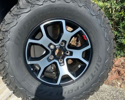 Florida - 2020 Rubicon Take off wheels and tires