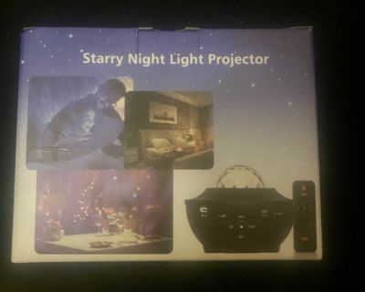 New Starry night light projector with Bluetooth speaker