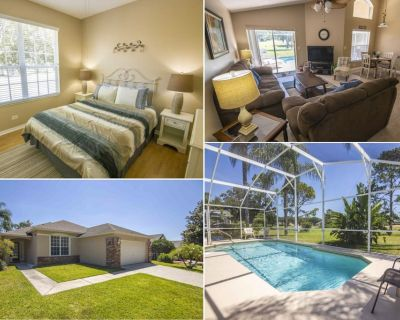 Gorgeous Gulf Course View - Heatable Pool & Spa - Southern Dunes Resort - Haines City