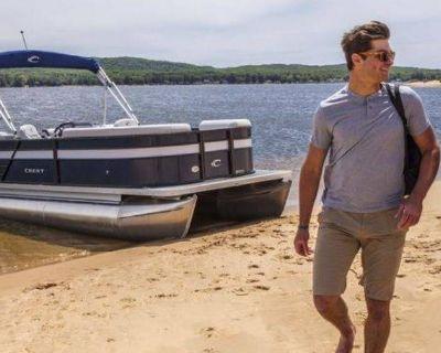 2021 Crest Classic LX 200 L Pontoon Boats Ponderay, ID