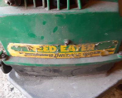 Weed eater blower.