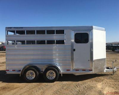 3 Horse Trailer, Aluminum Three Horse Trailer, CM Trailer CMH5043-16
