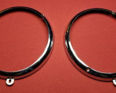 New sealed beam Headlight trim Rings 2 - 7