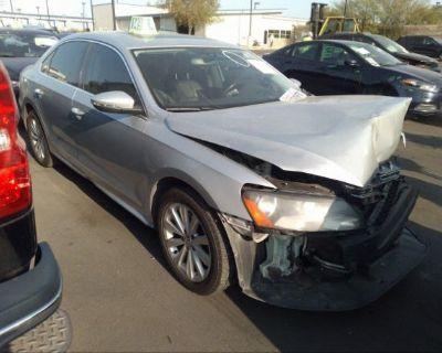 Salvage Silver 2012 Volkswagen Passat