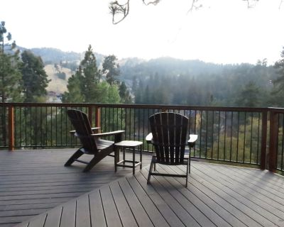 New! Majestic Pine Retreat - Panoramic view, close to Bear Mountain Ski Resort! - Upper Moonridge