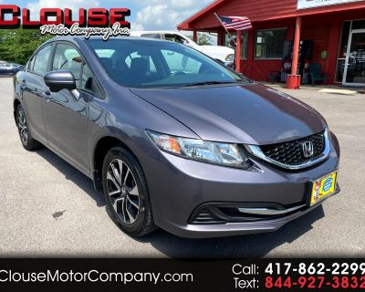 2014 Honda Civic Sedan 4dr CVT EX
