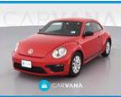 2018 Volkswagen Beetle Red, 35K miles