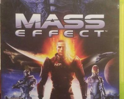 Mass effect xbox game