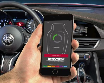 Introducing The InterStar PowerPedal for your Alfa Romeo Giulia!