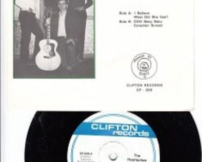 HEARTACHES ~ Mint-RARE EP w/45