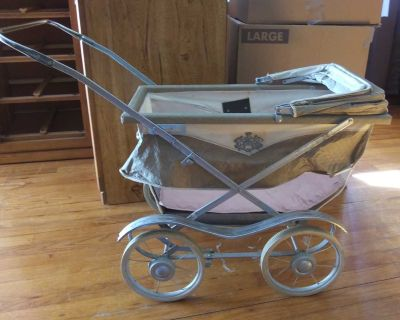 Vintage South Bend Doll Carriage