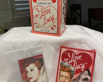 I Love Lucy Playing Cards and Trading Cards
