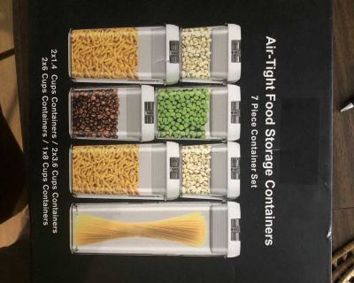 New Air-Tight Food Storage Containers