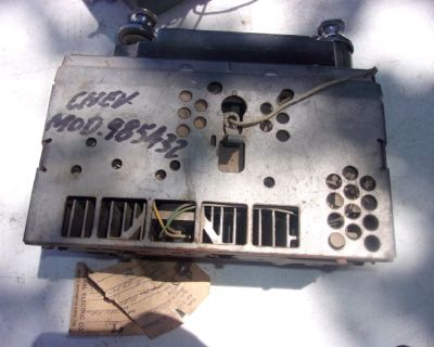 1965 – 1969 Corvair Car AM Radio with Knobs