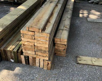 2x6 reclaimed wood boards