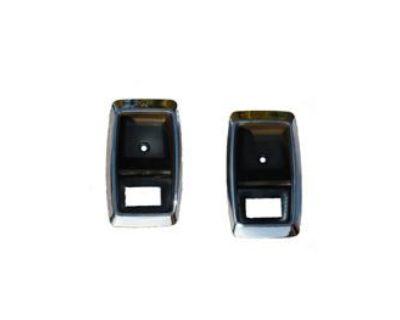 79 81 83 85 87 89 91 93 Mustang Chrome Door Handle Cup Set 80 82 84 86 88 90 92